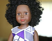 "Black Doll - 18"" African American..."