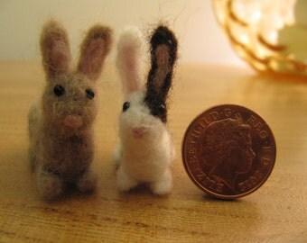 handmade needlefelt bunny