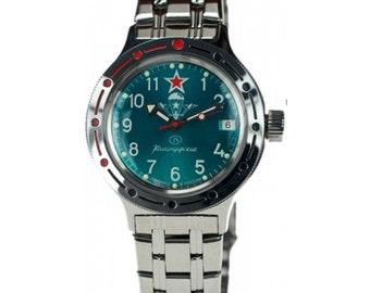 Russian Amphibia VDV watch VOSTOK 420307 (31 stone)