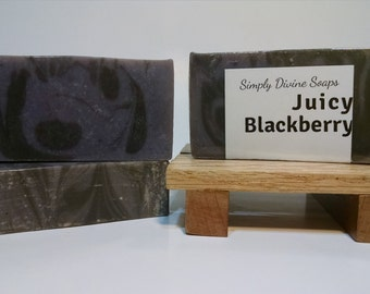 Juicy Blackberry Soap