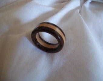 Wood Ring - mahagony / ahorn