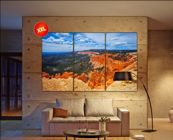 Bryce Canyon National Park  canvas Bryce Canyon wall decoration Bryce Canyon canvas art Bryce Canyon large canvas