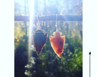 Jasper Earrings 1.25""