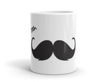 Mr. Mustache Mug