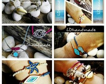 Bracelets handmade Summer 2016
