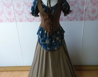 Outlander dress / dickens outfit / victorian dress / medieval dress / Celtic dress  / fantasy/ dickens costume renaissance dress