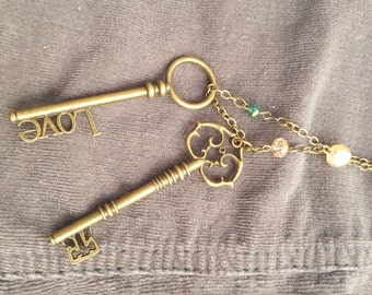 Keys to the Heart Necklace