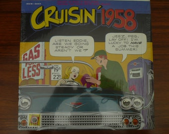 Cruisin' 1958 LP Album  33 1/3