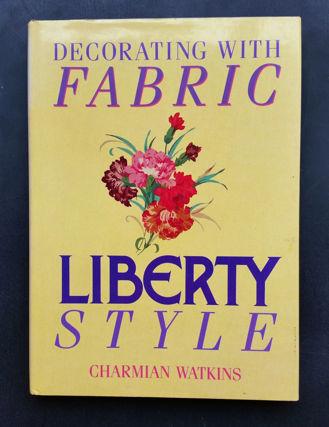 Vintage Liberty Fabric Book Decorating With Fabric Liberty Style 1987 1980s Home Decoration