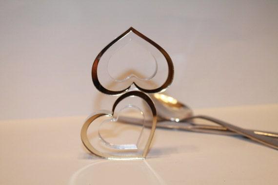 Gold Bling Napkin Rings, Napkin Ring in Gold Hearts, Gold Wedding Decor, Wedding table napkin rings, Napkin Holder, Dining Table Decor