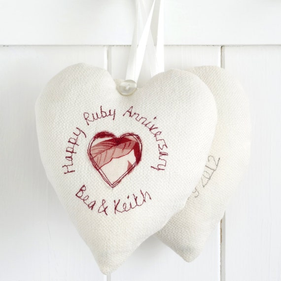 Ruby Wedding Gift Bags : ... 2nd Anniversary Gift - 4th Anniversary Gift - Ruby Anniversary Gift