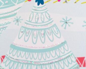 "Handmade Holiday 5""x7"" Greeting Card"