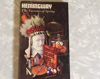 The Torrents of Spring by Ernest Hemingway Vintage Book