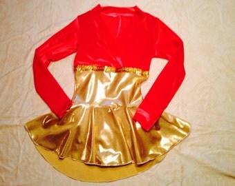 Wrap Top Skating Dress