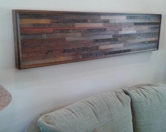 Barnwood wall art reclaimed wood wall art wood wall art rustic wall art Made to order
