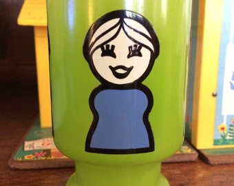 Vintage Fisher Price juice glass