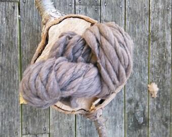 100% New Zealand Merino wool Hand spun yarn Undyed