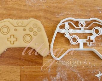 X-box One controller cookie cutter, Game controller cookie cutter