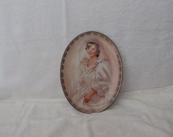 Princess Diana Plate, Bradford Exchange Plate,Diana Collectors Plate,Peoples Princess Plate,Queen of our Hearts plate