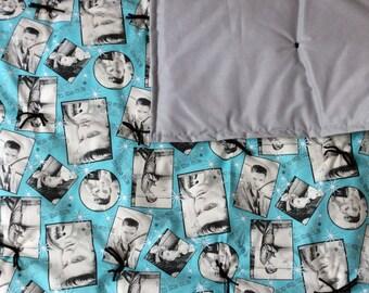 Elvis Presley blanket