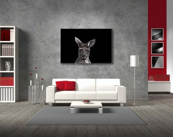 "Canvas ""Animal series Kangaroo"""