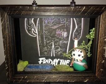 Shadow Box Jason / Friday the 13th