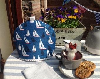 Nautical Boats Tea Cosy