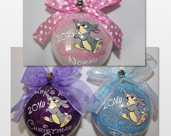 Baby's First Christmas Ornament Baby Mickey Mouse or
