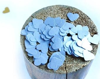 Silver Hearts Confetti, Paper Hearts Confetti, Silver Wedding Confetti,Small Hearts Die Cuts, Wedding Decoration, St. Valentine decoration