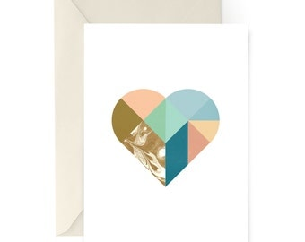 Every Heart Sings A Song | Poetic Love Card | Plato | A2