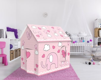 Nursery Playhouse, Baby room Playhouse elephant. FREE SHIPPING.