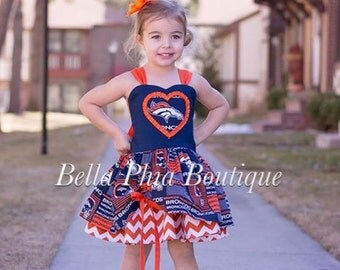 Denver Broncos Poppy Dress