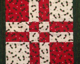 Vintage Style Christmas Quilt***SALE  50% OFF***