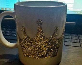 Glitter Mug Handmade - Blink Crown