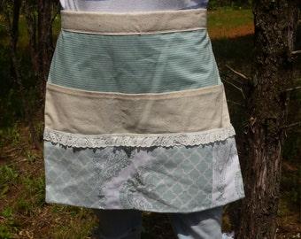 Extra large vintage half apron
