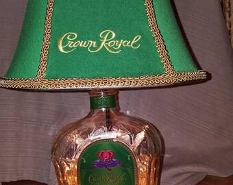 Apple Crown Royal Lamp