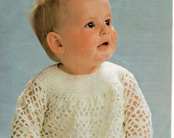 Woolworth 505 Baby Knitting and Crochet Book PDF Instant Download 24 pages 13 pattern sets
