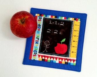Mug Rug - Fabric Coaster - Snack Mat
