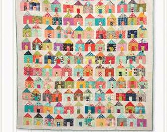 Village Quilt Pattern: Jumble - A Charm Pack Mash-up! by Carrie Nelson for Miss Rosie's Quilt Co.