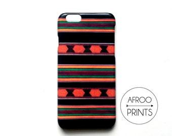 AFROOPRINTS. Phone case Kente African Prints XII