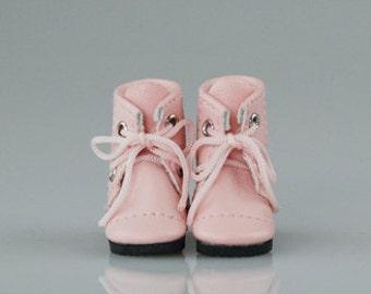 Vintage boots pink 35mm / Glib