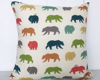 bears cushion cover