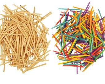 SUPER VALUE Hobby Match Sticks - 2 packs, 1 Plain & 1 Coloured