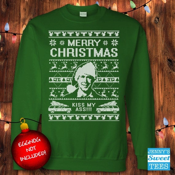 Clark griswold christmas sweater
