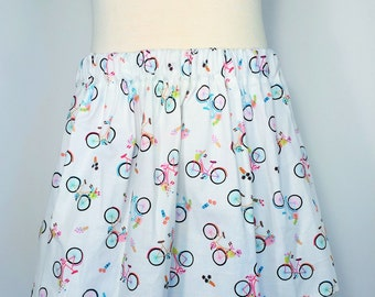 Girls bicycle skirt