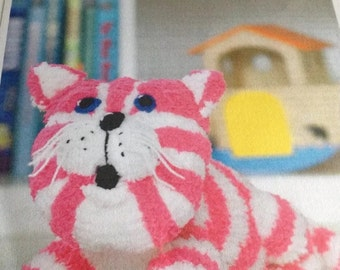Knitting Pattern For Bagpuss the saggy old cloth cat