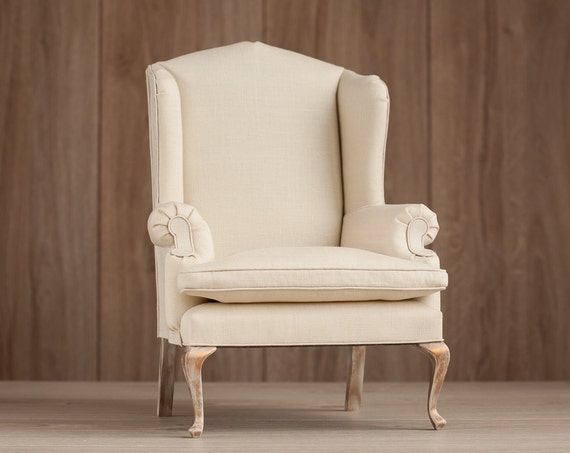 Reserved Listing For Katy 1 4 Scale Doll Wingback Chair Bjd