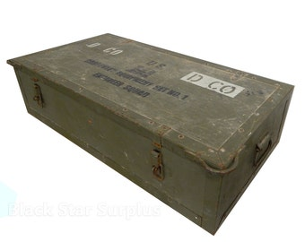 Wooden Military Tool Chest