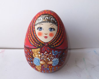 Russian doll Matryoshka tumbler Egg Easter