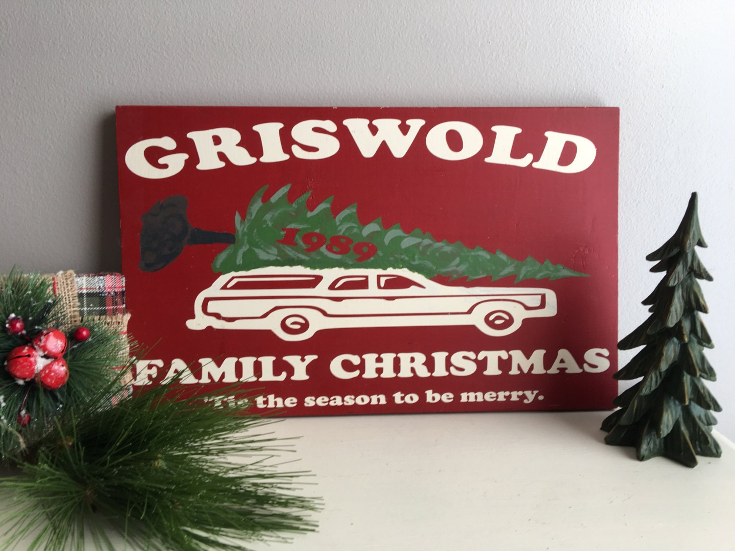 Christmas Signs Christmas Vacation Griswold Christmas